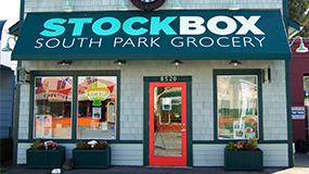 Stockbox South Park Storefront