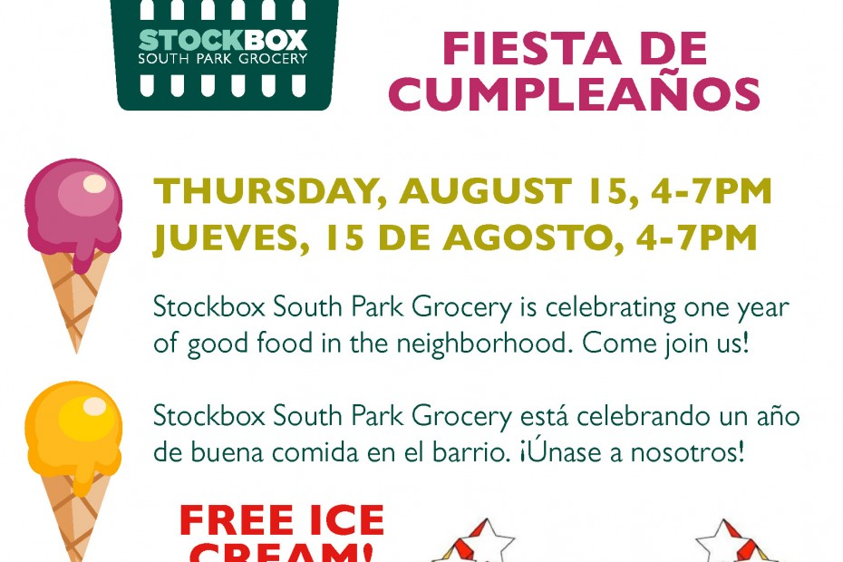 Stockbox South Park Grocery Birthday Party