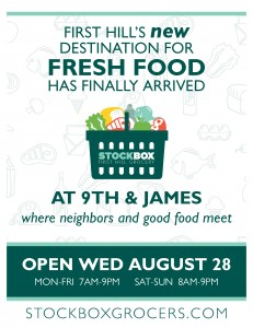 First Hill's NEW destination for fresh food has finally arrived at 9th and James, where neighbors and good food meet!